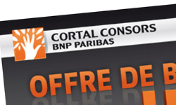 EMAILING OFFRE BOURSE CORTAL CONSORS