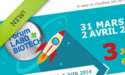 Newsletter Forum LABO&BIOTECH